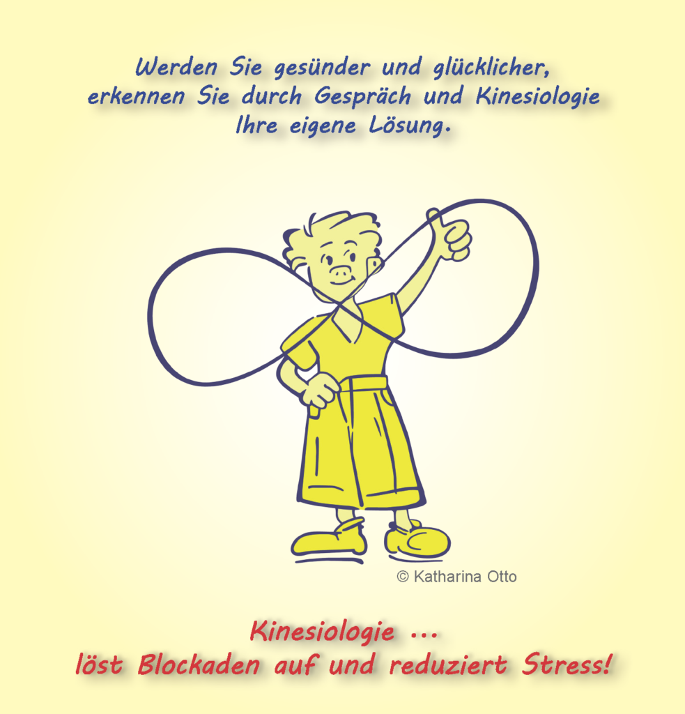 """Reduzieren Sie Ihren Stress und lösen Sie Ihre Blockaden auf. Das Lassomännchen zeigt Ihnen Körperaktivitäten zur Stressreduktion: Es malt eine """"liegende Acht"""" in die Luft."""